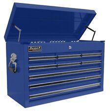 Homak 27 Professional Black 9 Drawer Top Chest - Blue BL02092601 Tool Box NEW