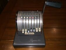 Vintage Antique  The Paymaster System 7 Column Series S-550 Checkwriter