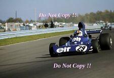 Chris Amon Elf Tyrell 005 USA Grand Prix 1973 Photograph