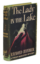 The Lady in the Lake ~ RAYMOND CHANDLER ~ First Edition ~ 1st Printing 1943 ~ DJ