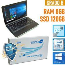 """NOTEBOOK DELL LATITUDE E6330 I5 13,3"""" 8GB 120GB SSD WINDOWS 10 BATT NUOVA-"""