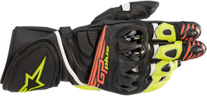 Alpinestars GP Plus R2 Gloves 2XL Black/Yellow/Red 3556520-1538-2X