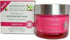 1000 Roses Rosewater Gel Mask, Andalou Naturals, 1.7 oz