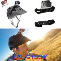 PULUZ Adjustable Helmet Strap Mount for Gopro SJCAM Eken Xiaomi Yi Cycling US