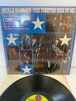 """Merle Haggard-The Fightin' Side Of Me 12"""" LP Capitol ST-451 Country 1970"""