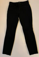 0R Gap Skinny Ankle Women's Black Stretch Chino Style Fitted  Pants
