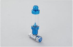 Aluminum Precise CO2 Regulator valve + bubble counter & check valve for aquarium