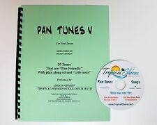 """Steel Drum Play Along Book """"Pan tunes 5"""""""