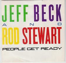 "Jeff BECK & Rod Stewart-las personas Get Ready-eliminado 1985 7"" Single Australiano"