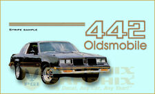 1985 1986 1987 Oldsmobile 442 Decals & Stripes Kit