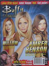 Willow / Amber Benson / Spike 2005 Buffy The Vampire Slayer Magazine #19 / New
