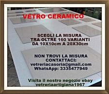 SCEGLI LA MISURA oltre 160 varianti VETRO CERAMICO per camini,termocamini,stufe