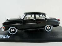IXO #34 Opel Kapitän ´54 (1953-1955) in schwarz 1:43 NEU/PC-Vitrine