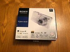 Sony Cyber-shot DSC-WX5 12.2MP Digital Camera Bundle Silver