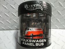 Hot Wheels Oil Can Truck Series Red/White Volkswagen Panel Bus  w/RR's