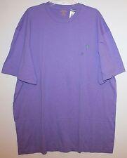 Polo Ralph Lauren Mens Hampton Purple Crewneck T-Shirt NWT $45 XXL 2XL