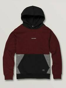 Volcom Boy's Pullover Hoodie FORZEE - CAB - Large - NWT