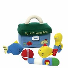 GUND My First Tackle Box, Stuffed Fishing Gear with Accessories,