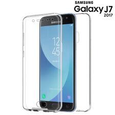 Funda Proteccion 360º Gel TPU Hibrida Transparente para Samsung Galaxy J7 - 2017