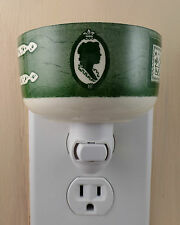 Royal China COLONIAL HOMESTEAD Green Pattern Custom Night Light NO HANDLE