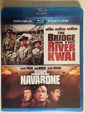 The Bridge on the River Kwai/ Guns of Navarone - Blu ray, 2 Disc (NEW)