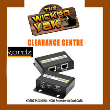 Kordz HDMI Extender via Dual Cat6 PLX-HD50-NEW!