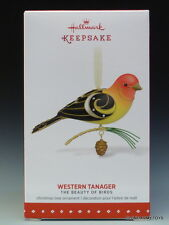 NEW 2015 Beauty of Birds #11 Western Tanager HALLMARK KEEPSAKE ORNAMENT