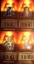 STAR WARS REVENGE OF THE SITH 3D WIDEVISION COMPLETE SLIVER  PATCH  SET # to 30