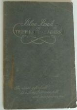 Vintage Address Book Blue Book of Telephone Numbers from the Bell Telephone Comp