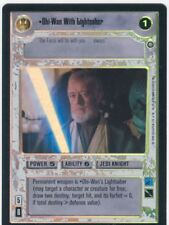 Star Wars CCG Reflections II Boxtopper Foil Obi Wan With Lightsaber