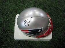Autographed Randy Moss Mini Helmet
