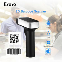 USB Wired 2.4G Wireless Bluetooth Barcode Scanner With USB Receiver for Android