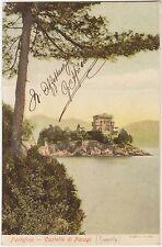 PORTOFINO - CASTELLO DI PARAGI (GENOVA) 1907