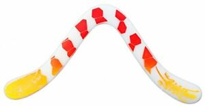 Technic Gecko Decorated Boomerang - Fantastic Beginner Boomerang for Ages Abo...
