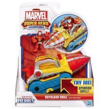 Playskool Eroi Marvel Super Eroe AVVENTURE repulsori trapano + Figura IRON MAN