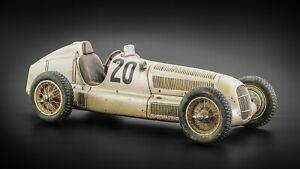 1/18 1934 Mercedes W25 #20 M.V.Brauchitsch Dirty Hero L/E 1000 PZ M-147