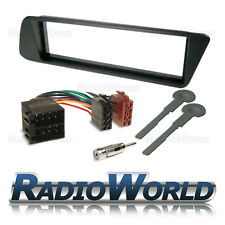 Peugeot 306 Single Din coche estéreo Radio Kit de montaje de antena ISO Fascia Surround
