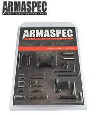 Armaspec Builder's LPK less Trigger Group 223/5.56 Black w/ ERGO 4009 BLK Grip