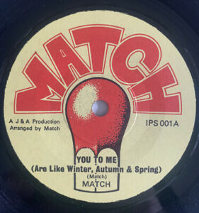 Match 'You To Me' Rare Private Northern Soul 45' !!