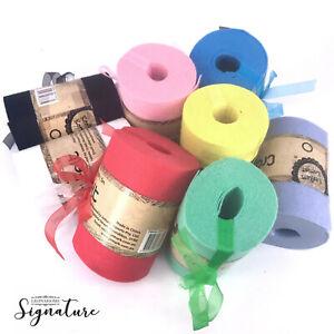 5m craft felt colour tape crafting DIY bat down Black White Red party creat reel