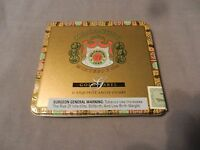 Macanudo Montego Y Cia Gold Label Exquisite Ascot Cigars Empty Metal Tin