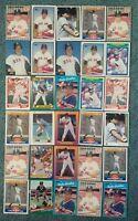 Carlos Quintana Baseball Card Mixed Lot approx 81 cards