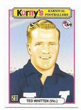 Acheron Mints Korny's Karnival Footballers (20) Ted WHITTEN Footscray