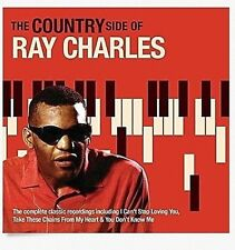 RAY CHARLES .. THE COUNTRY SIDE OF .. I CAN'T STOP LOVING YOU .. 24 HITS OLDIES
