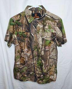 Game Winner Camoflauge Hunting Shirt Women's Size Medium