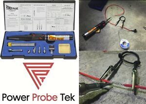 POWER PROBE PPSK Butane Soldering Kit Includes 3 Tips New Free Shipping USA