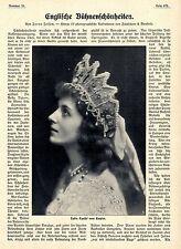 Jarno Jessen * Englische Bühnenschönheiten 1909 * Historische Memorabile