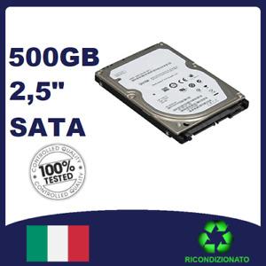 Hard Disk 500gb SATA 2,5 HDD VARIE MARCHE x pc portatile notebook con GARANZIA