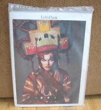 NEW Sealed Let's Panic 1 Jacob Holdt Araki Fashion Polaroids Chelsea Hotel PB