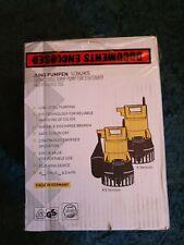 PENTAIR JUNG PUMPEN U3K/KS NEW BOXED SUMP PUMP (Make an offer)